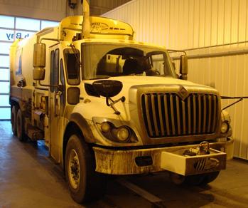 Vaskeanlæg til lastbiler - NoviClean