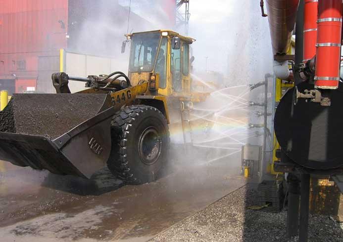 Vaskeanlæg til special køretøjer fra NoviClean