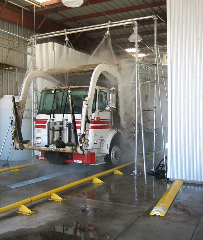 Vaskesystem til lastbiler fra NoviClean