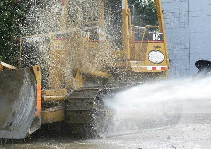 Hjulvask af specialkøretøjer - NoviClean