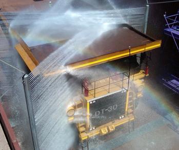 Skræddersyet vaskeanlæg til specialkøretøjer