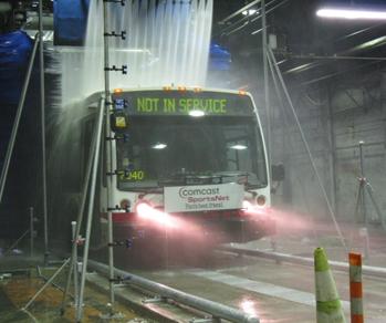 Skræddersyet vaskeanlæg til busser