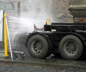 Skræddersyet vaskeanlæg til hjulvask
