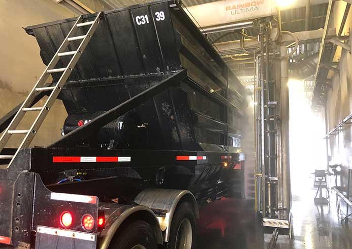Vaskeanlæg og vaskesystem til lastbiler fra NoviClean