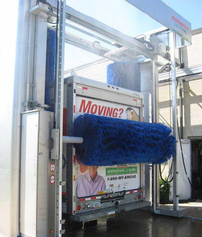 Mobil vaskehal til lastbiler fra NoviClean