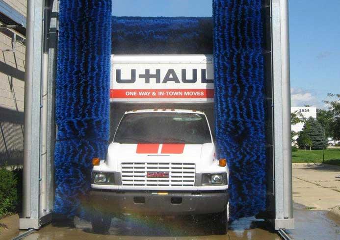 Vaskeanlæg til erhvervskøretøjer fra NoviClean