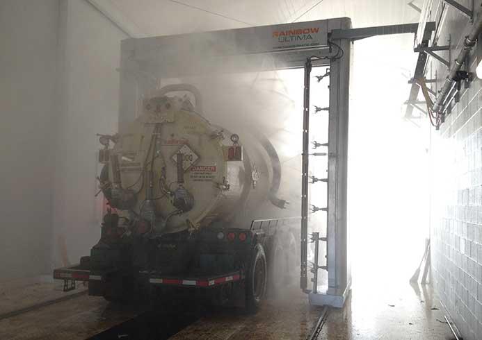 Vaskeanlæg til lastbiler fra NoviClean