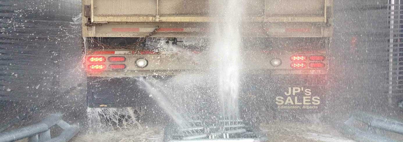 Specialdesignet hjulvasker til undervognsvask - NoviClean
