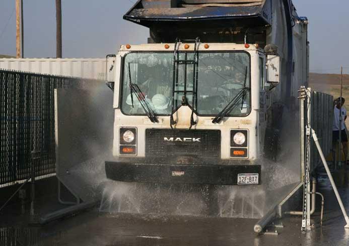 Hjulvasker til store lastbiler - Hjulvaskeanlæg - NoviClean