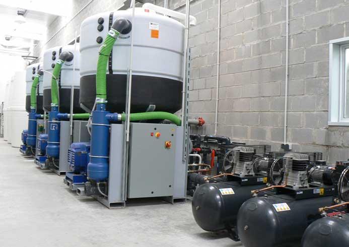 Genanvend dit vand til vores vaskeanlæg og vaskesystemer fra NoviClean