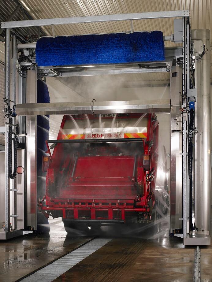 Professionel lastbilvask i Odense - NoviClean