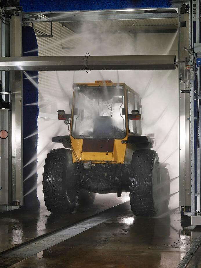 Miljøvenlige vaskehaller til erhvervskøretøjer - NoviClean