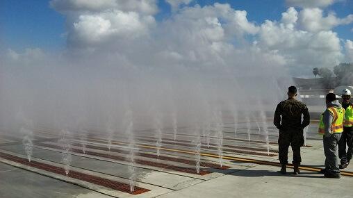 Vaskesystem til fly