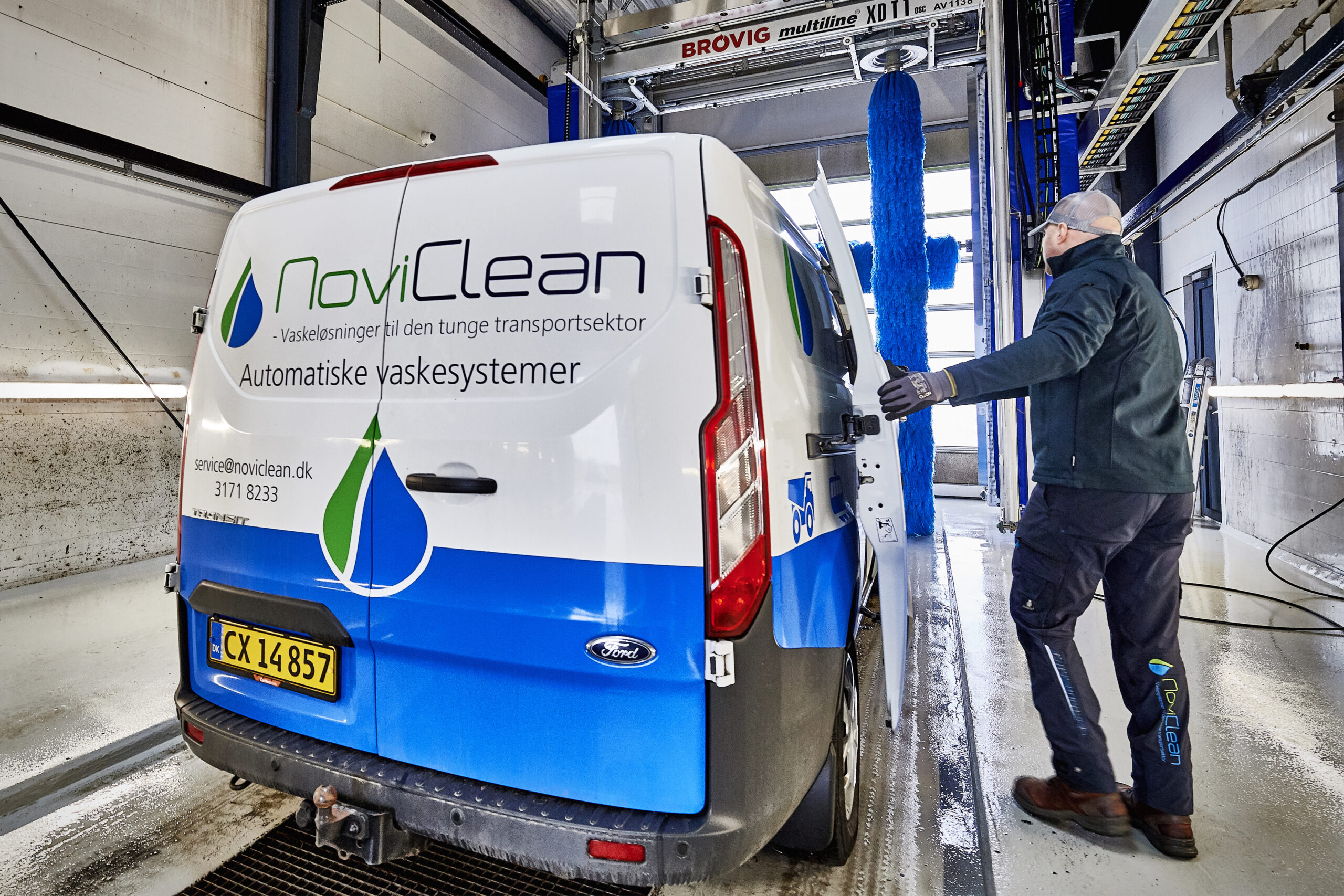 Servicering og installation af vaskesystemer fra NoviClean